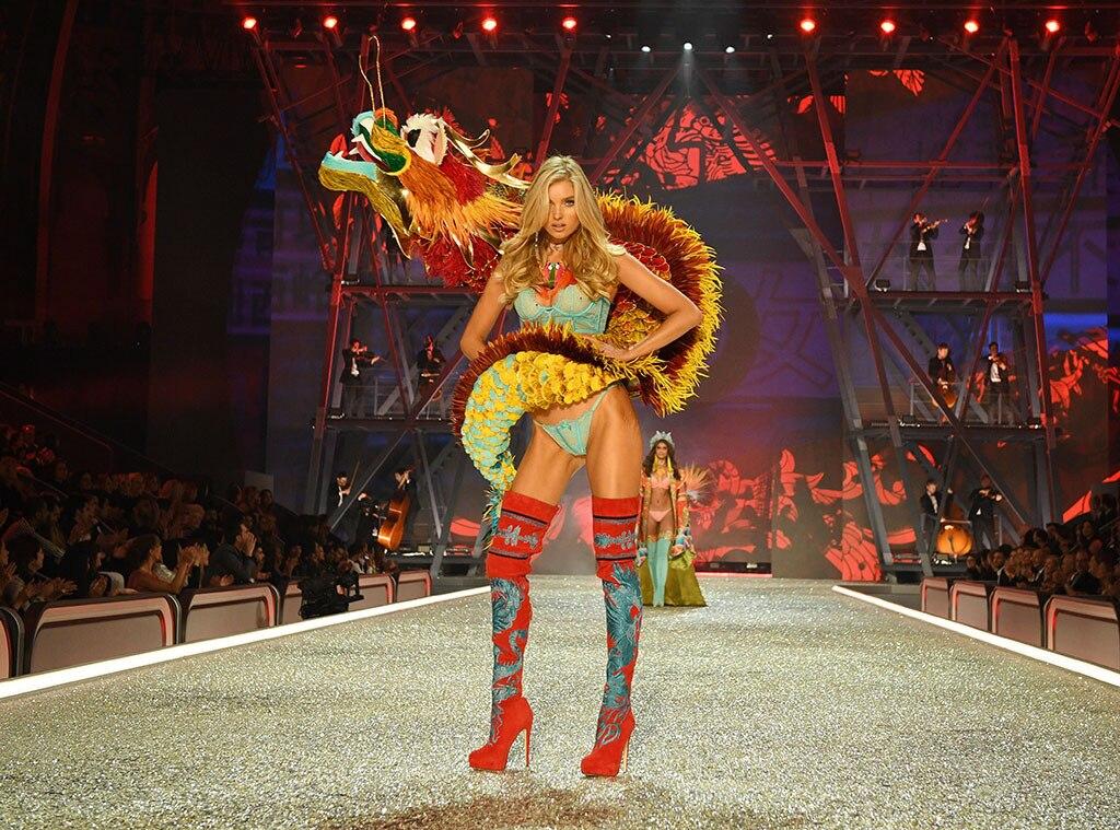 elsa hosk from 2016 victoria u0026 39 s secret fashion show