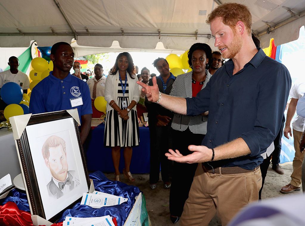 Prince Harry, Caribbean Day 9