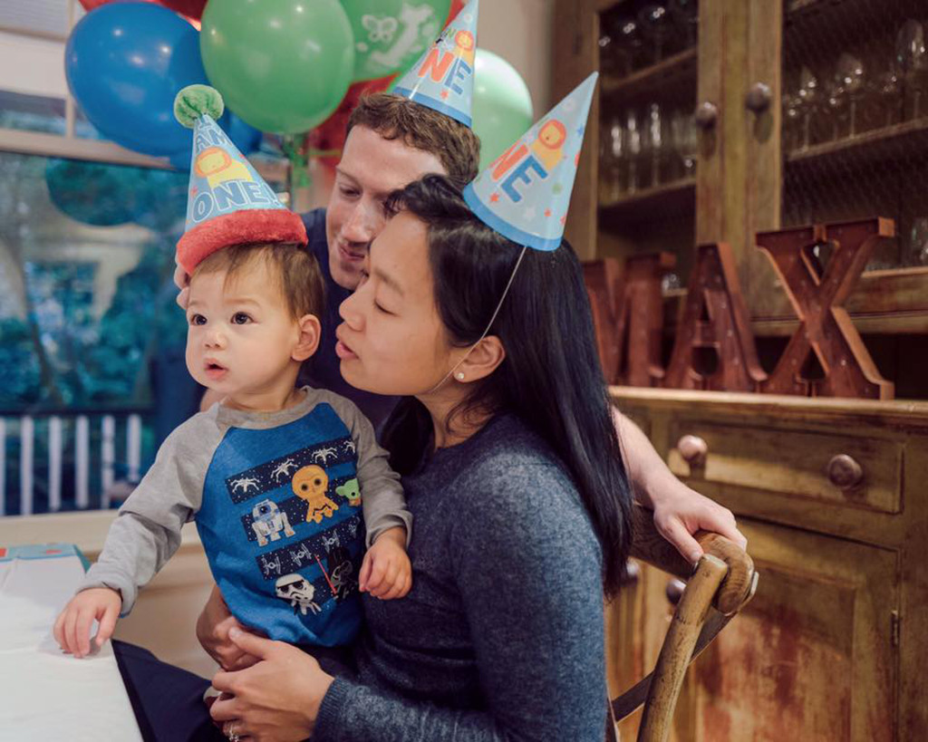 Mark Zuckerberg Shares Cute and Cuddly Picture With Newborn