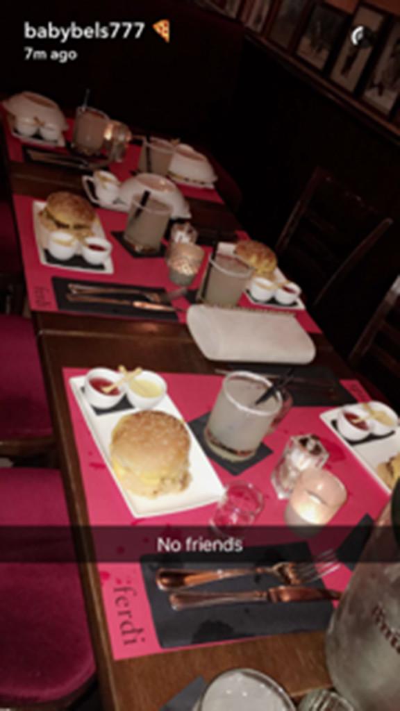 Kendall Jenner, Gigi Hadid, Burgers, Paris France