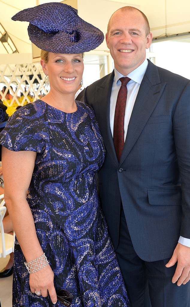 Zara & Mike Tindall -  Prince Harry's cousin  celebrated the arrival  of9lb.