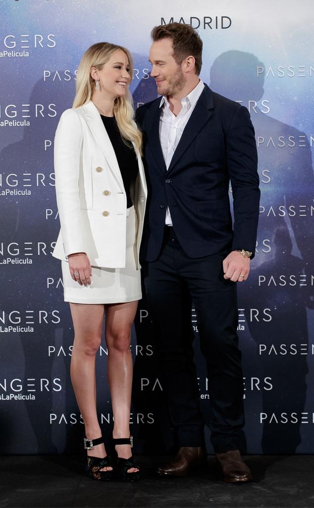 Jennifer Lawrence Blamed Anna Faris Chris Pratt Breakup
