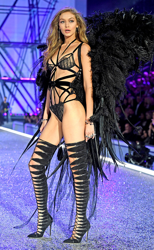 Gigi Hadid, 2016 Victorias Secret Fashion Show