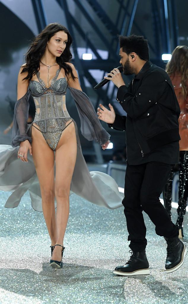 Bella Hadid, Weeknd, 2016 Victoria's Secret Fashion Show