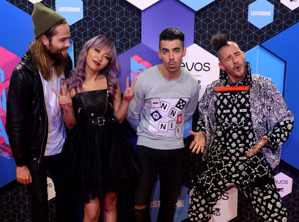 Jack Lawless, JinJoo Lee, Joe Jonas, Cole Whittle, DNCE, EMA's, MTV Europe Music Awards
