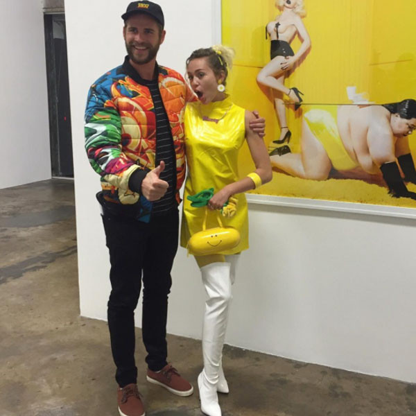 Liam Hemsworth, Miley Cyrus, Museum