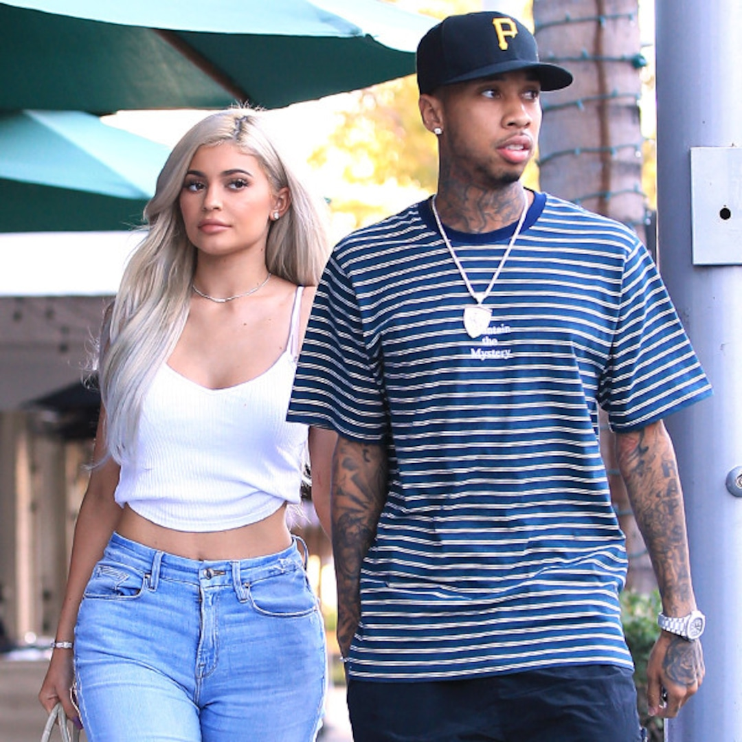 Kylie Jenner Reunites With Tyga During Girls' Night Out Amid Travis Scott  Break - E! Online