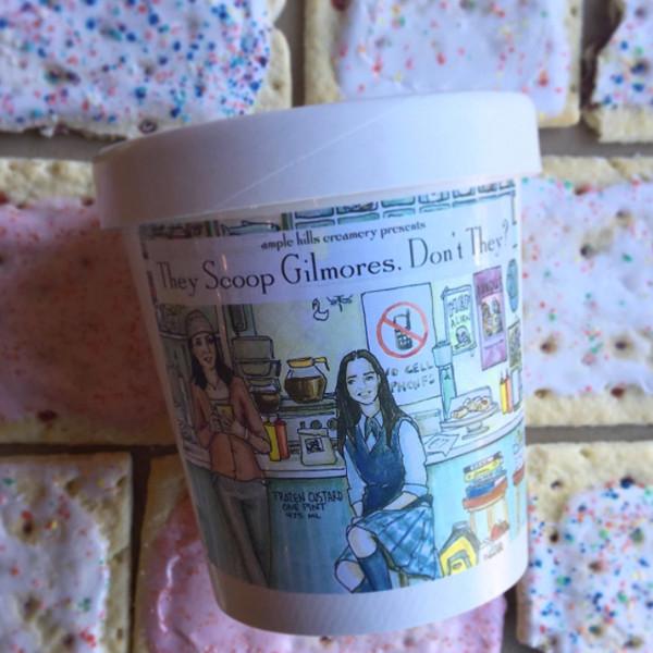 Gilmore Girls Ice Cream