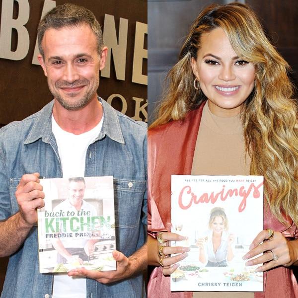 celebrities and their cookbooks  chrissy teigen  freddie