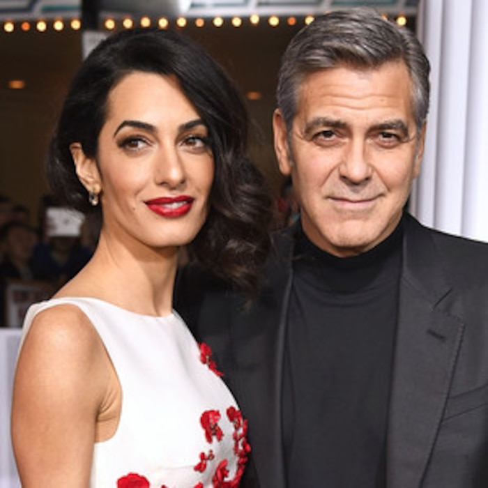 Inside George And Amal Clooneys First Days With Newborn Twins Ella