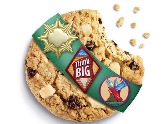 Girl Scout Cookies, Rah-Rah Raisins