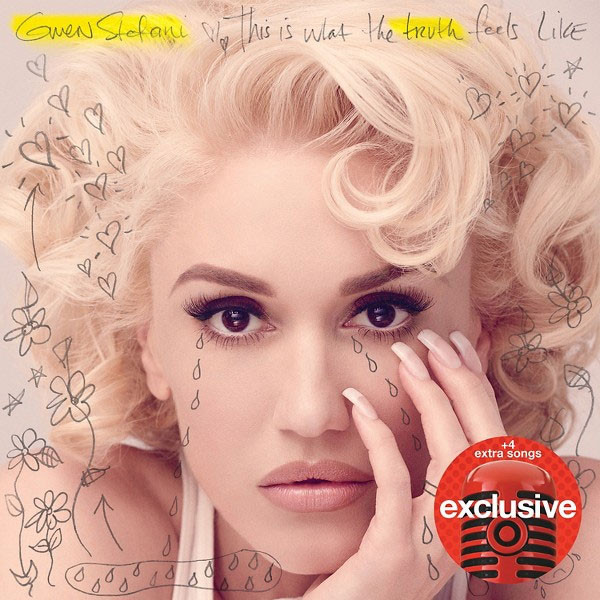 Gwen Stefani, This Is What the Truth Feels Like New Album Cover, Target Deluxe Version