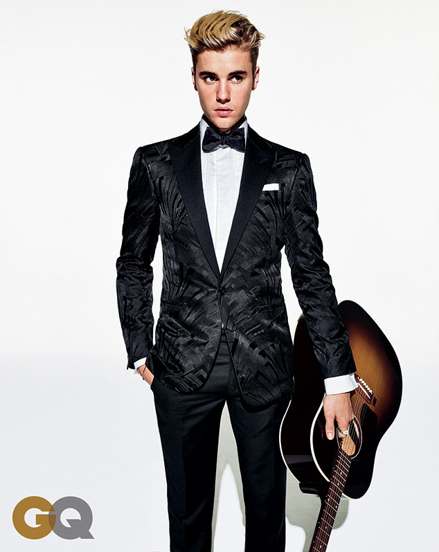 Justin Bieber, GQ