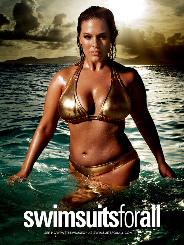 Ashley Graham, Swimsuitsforall Campaign, Bikini Photo