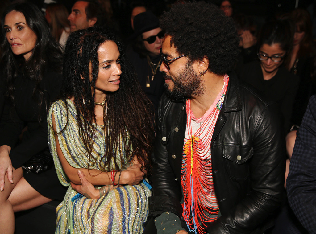 Lisa Bonet, Lenny Kravitz, SAINT LAURENT