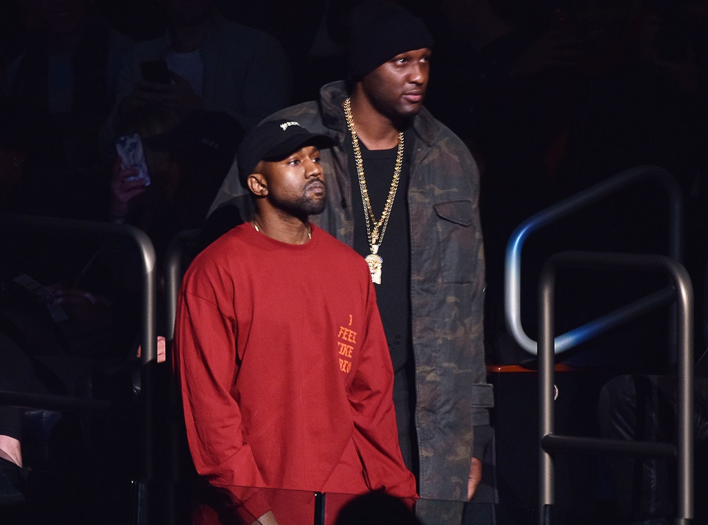 Lamar Odom Responds to Kanye West's Touching Tweet
