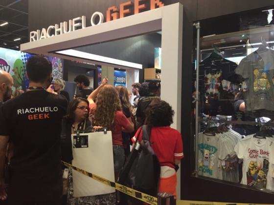 Riachuelo, Comic Con 2016