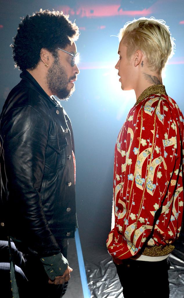 Lenny Kravitz, Justin Bieber, Saint Laurent