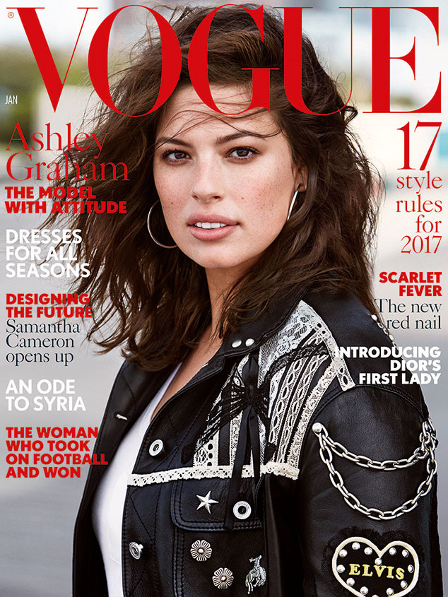Ashley Graham, British Vogue January 2017