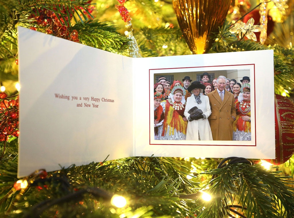 Prince Charles, Camilla Bowles, Christmas Card