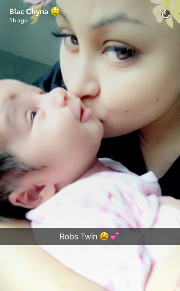 Dream Kardashian, 1 Month Old, Snapchat
