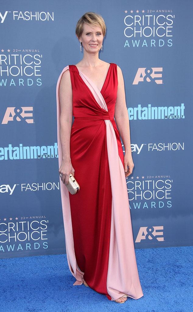 22nd Critics' Choice Awards, Cynthia Nixon, Arrivals