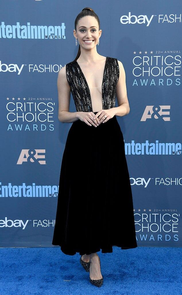 22nd Critics' Choice Awards, Arrivals, Emmy Rossum