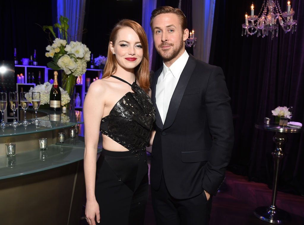 "We're All Canadian, Eh? -  ""Well, I like working with Emma because I think she's secretly Canadian,"" Gosling jokingly said during a Q&A for  La La Land  at the  TIFF screening  in 2016."