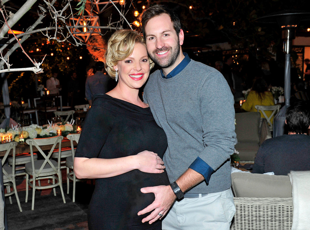 Katherine Heigl, Josh Kelley, Baby Shower, 2016