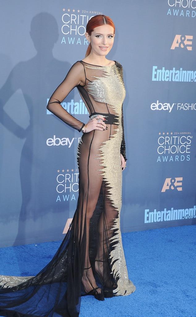 ESC: Critics Choice, Bella Thorne