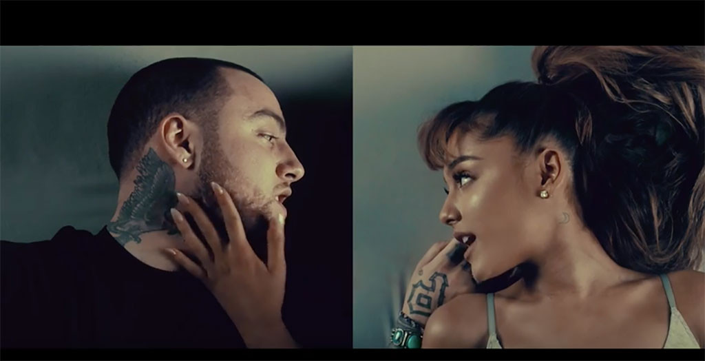 Ariana Grande, Mac Miller, My Favorite Part Music Video