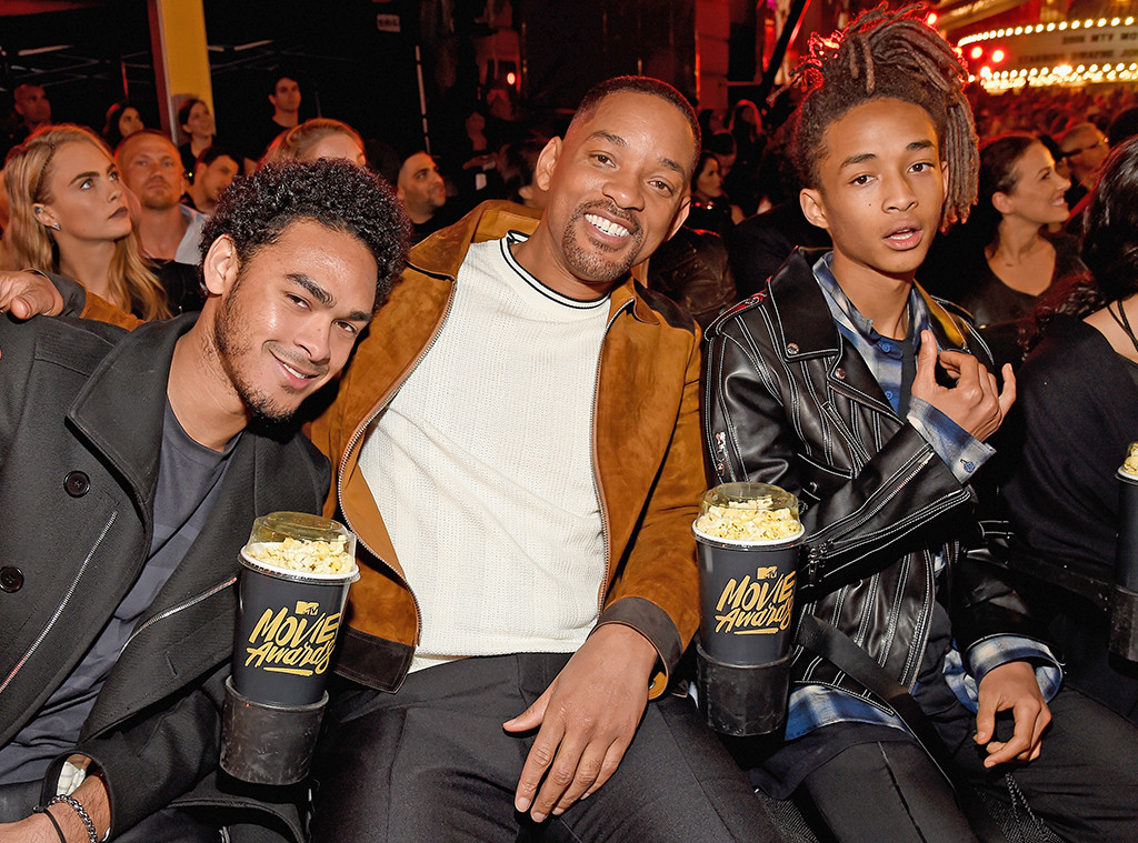 Will Smith, Trey Smith, Jaden Smith
