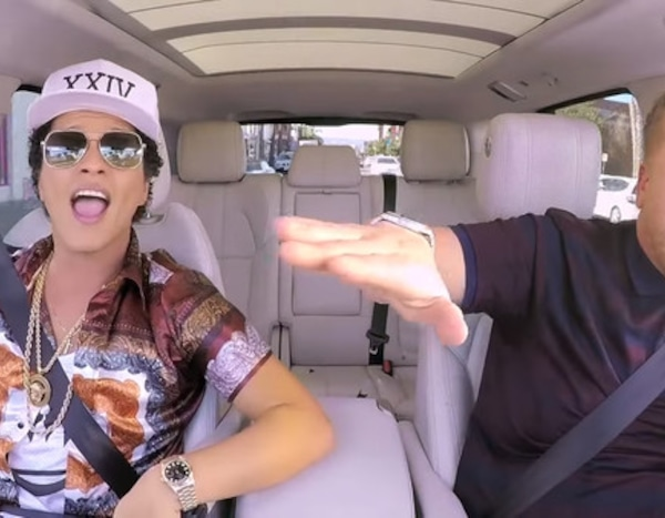 25. Bruno Mars from We Ranked of All of James Corden's