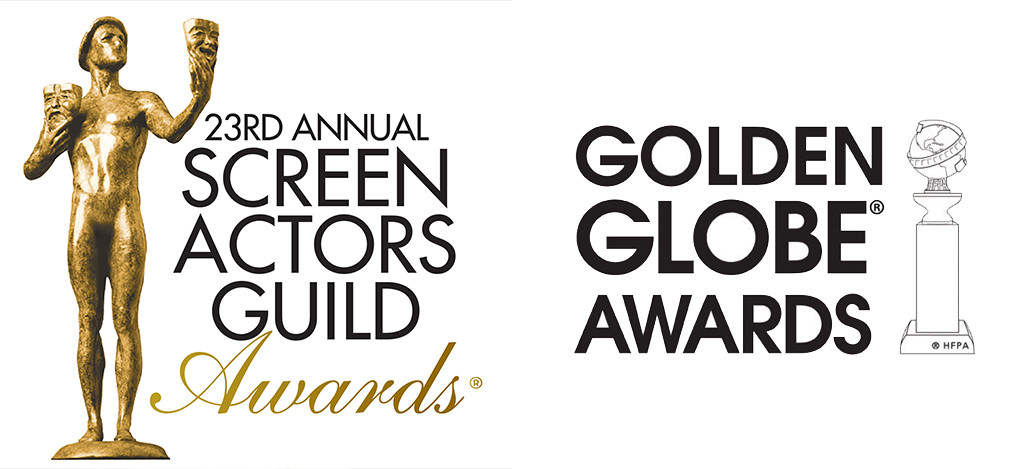 SAG Awards, Golden Globe Awards Logo
