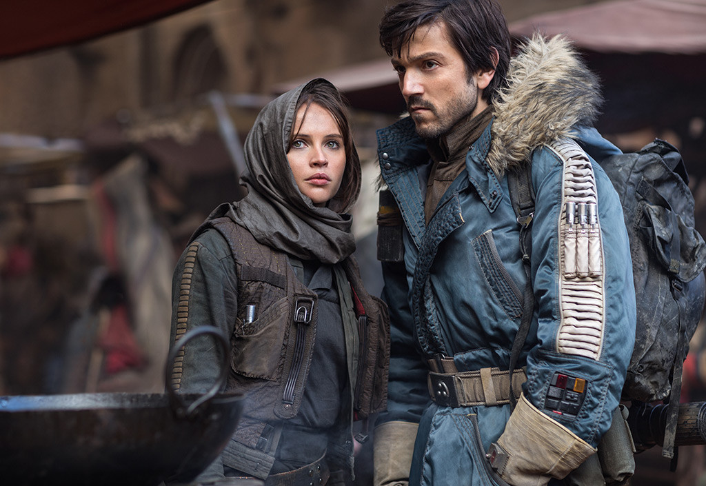 Rogue One, Star Wars, Felicity Jones, Diego Luna