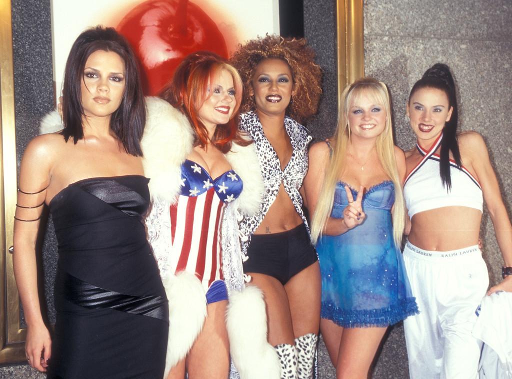 Victoria Beckham, Spice Girls, Geri Halliwell, Melanie Brown, Emma Bunton, Melanie Chisholm