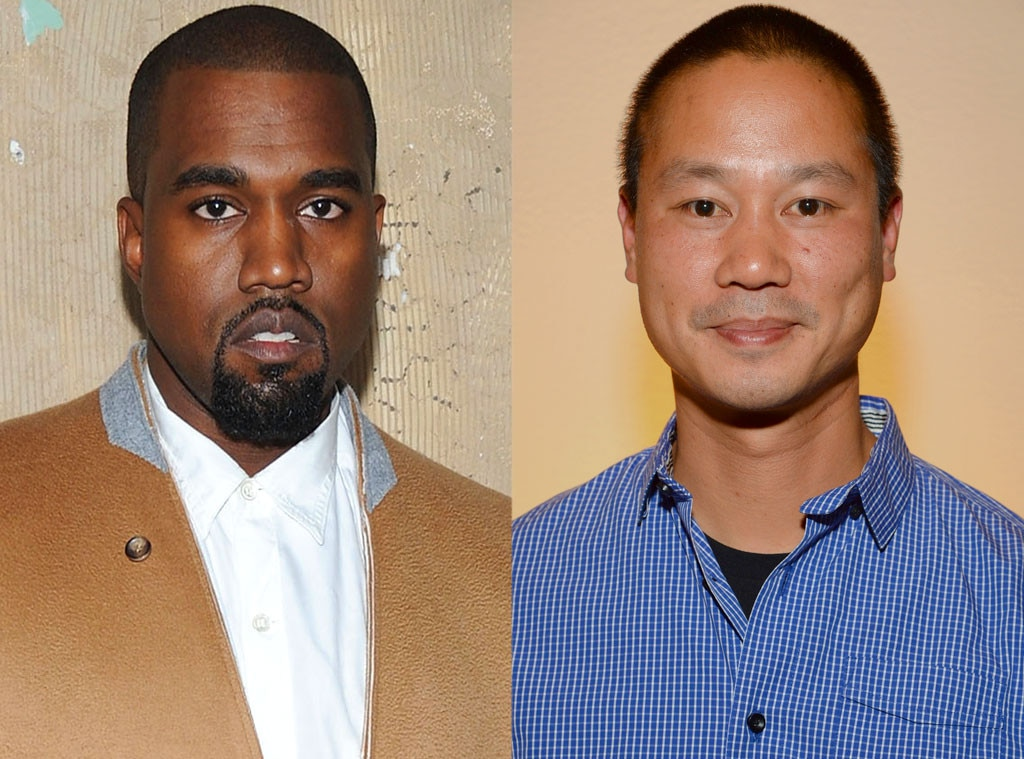 Kanye West, Tony Hsieh