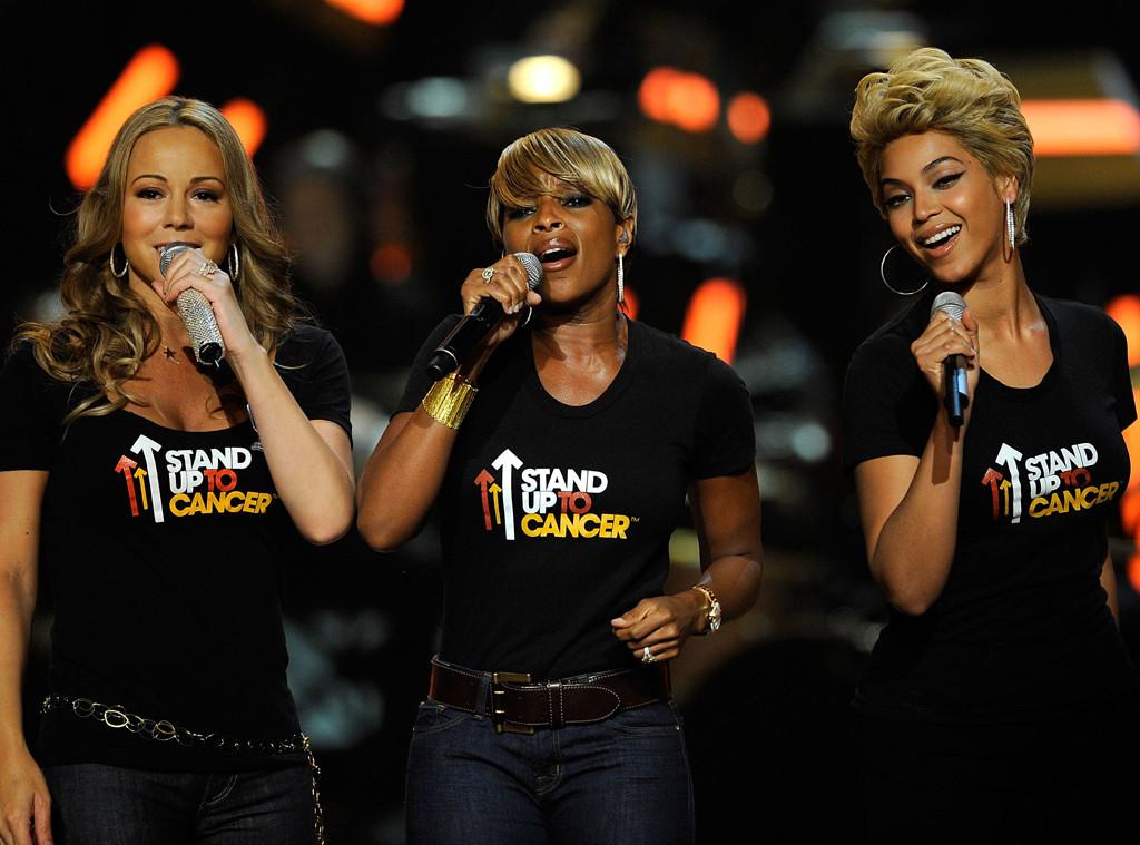 Mariah Carey, Mary J. Blige, Beyonce