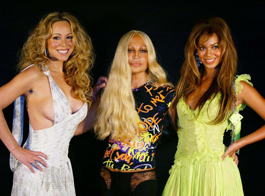 Mariah Carey, Donatella Versace, Beyonce