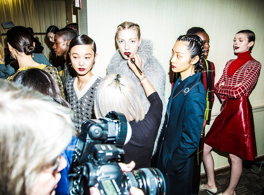 New York Fashion Week Fall 2016, Creatures of the Wind, Backstage