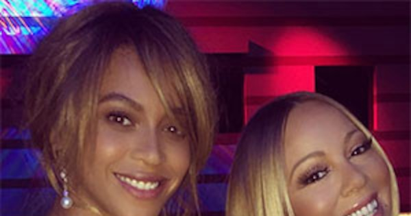 Beyonc 233 Amp Mariah Carey Hang Out Together And Showcase