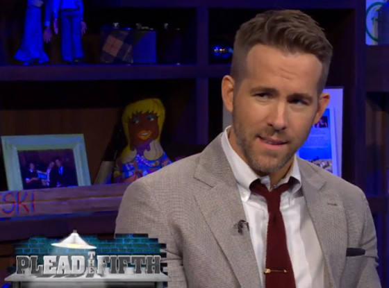 Ryan Reynolds, Watch What Happens Live