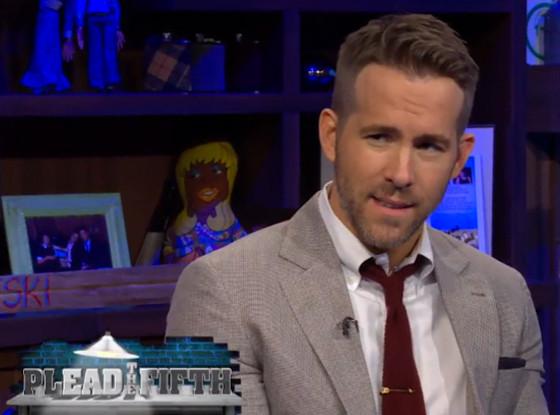 Ryan Reynolds, Watch What Happens Live