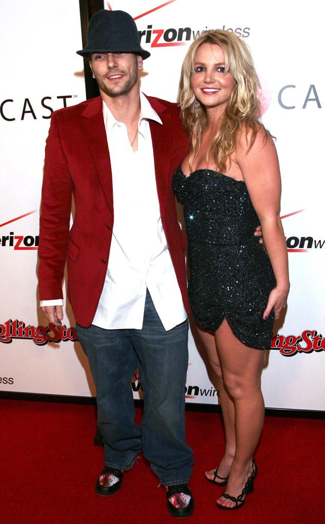 Britney Spears, Kevin Federline, Grammy Couples