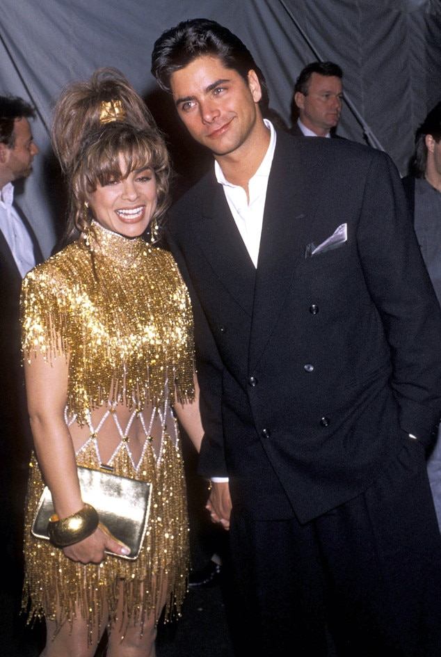 Paula Abdul, John Stamos, Grammy Couples