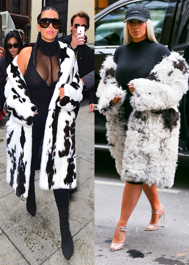 Kim Kardashian, NYFW, New York Fashion Week Star Sightings