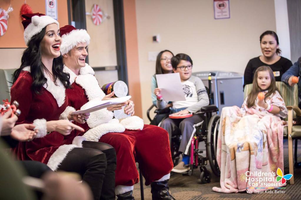 Katy Perry, Orlando Bloom, Children's Hospital