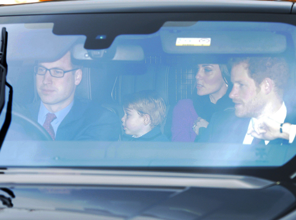 Prince William, Kate Middleton, Prince Harry, Prince George