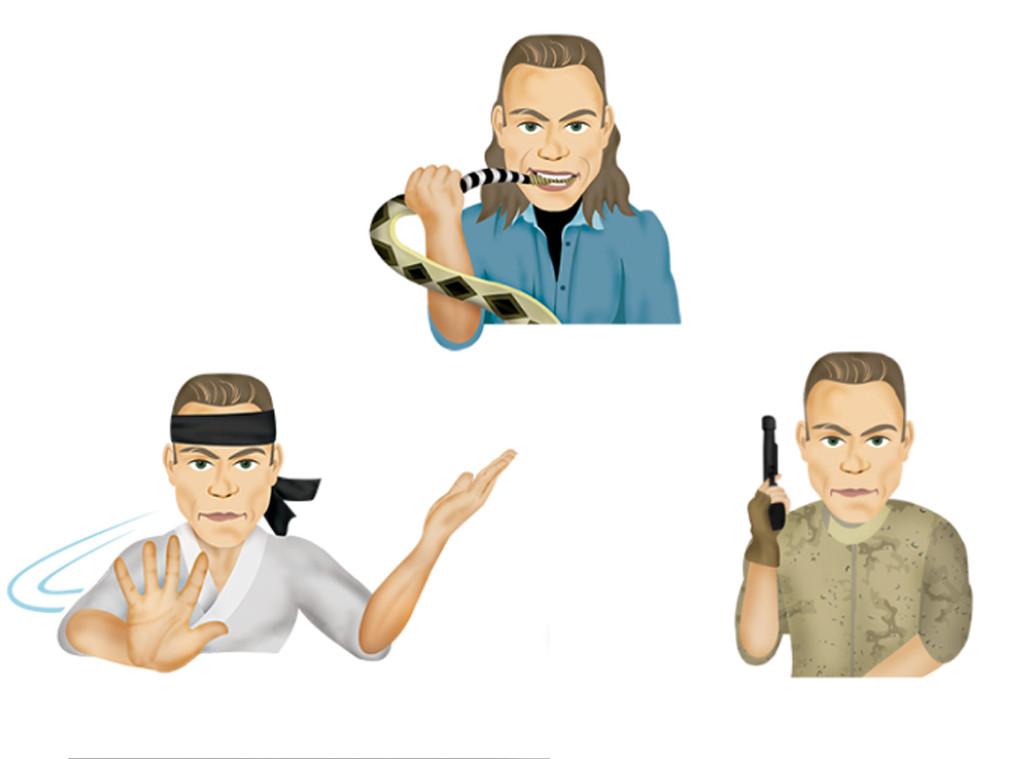 Best Celebrity Emojis, Jean-Claude Van Damme