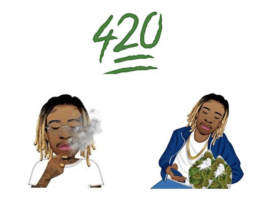 Best Celebrity Emojis, Wiz Khalifa